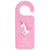 Shh...A Unicorn Sleeps here Door Hanger