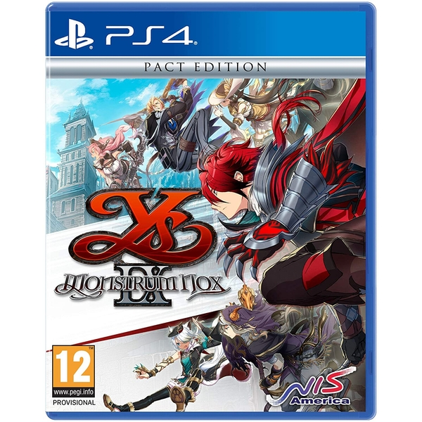 Ys IX Monstrum Nox Pact Edition PS4 Game