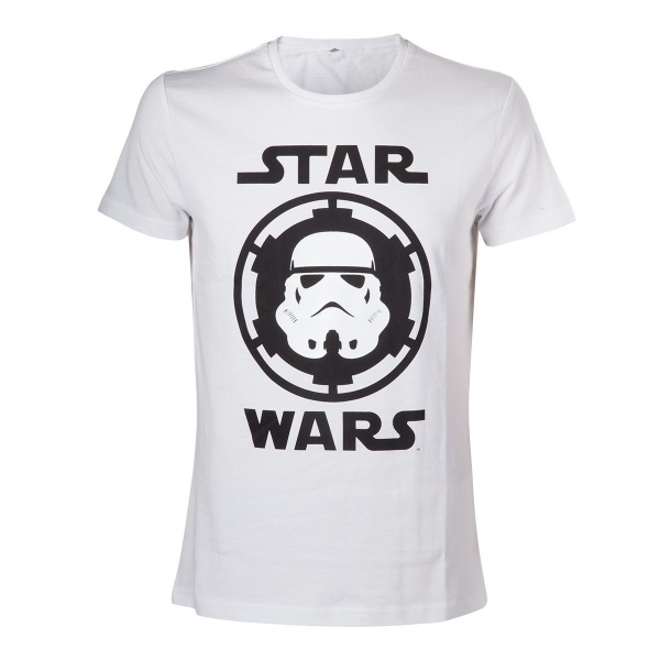 Star Wars Stormtrooper Helmet Emblem Small T-Shirt