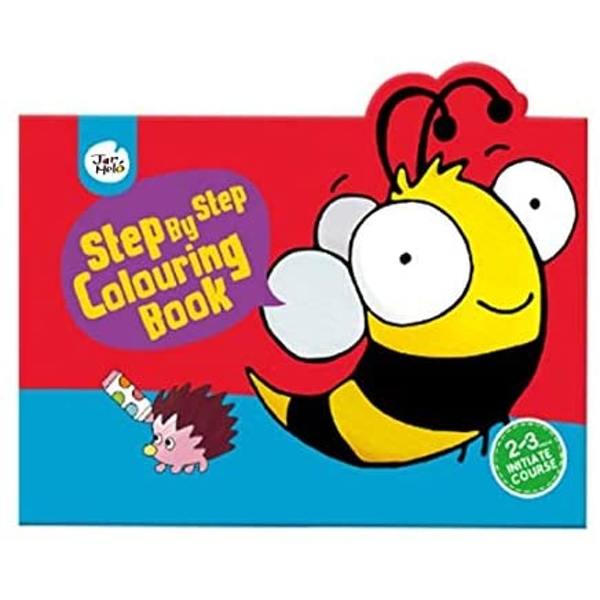 Initiate Step By Step Colouring Book (2-3 Years)