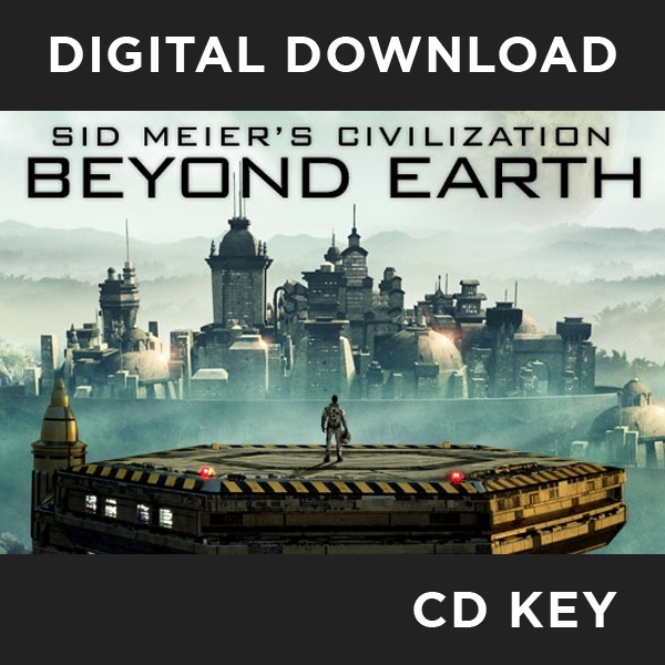 Sid Meier's Civilization Beyond Earth (with Exoplanets Map Pack DLC) PC CD Key Download for Steam