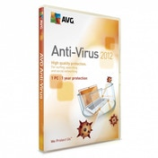 AVG Anti Virus 2012 1 PC 1 Year Licence PC