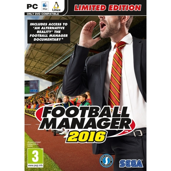 Football Manager 2016 Limited Edition PC Game