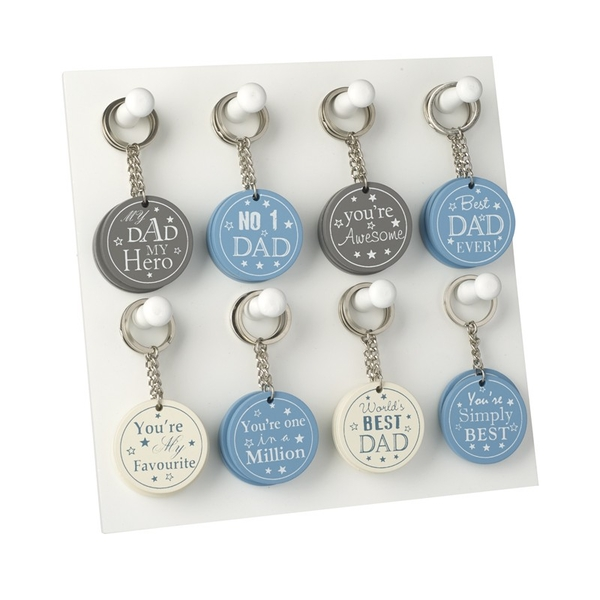 Dad Key Ring Set By Heaven Sends