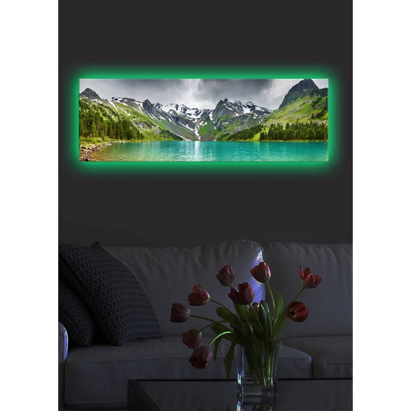 3090DACT-5 Multicolor Decorative Led Lighted Canvas Painting