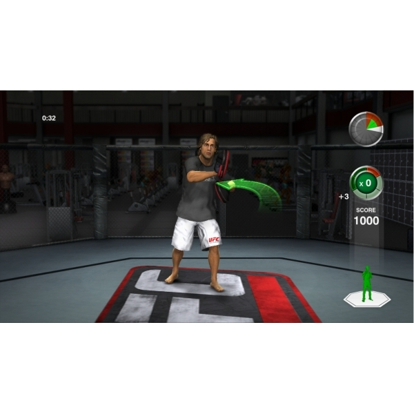 UFC Personal Trainer Includes Leg Strap (Move Compatible) Game PS3 - Image 4