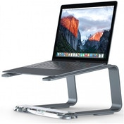 Griffin GC42029 Elevator Desktop Stand for Laptops Matte Space Gray / Clear