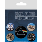 Pink Floyd 5 Badge Pack