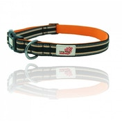 Long Paws Black Comfort Collection Padded Collar M