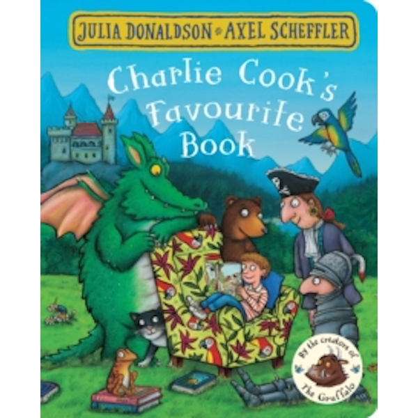 Charlie Cook's Favourite Book Board book