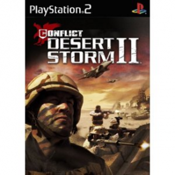 Conflict Desert Storm 2 II Game PS2