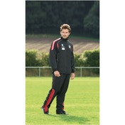PT Ultimate Tracksuit Jacket Black/Red/Silver 32-34