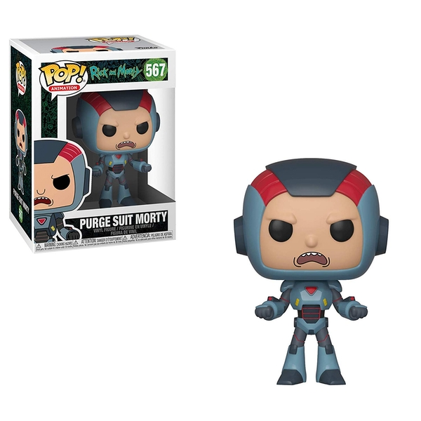 Purge Suit Morty (Rick and Morty S6) Funko Pop! Vinyl Figure #567