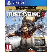 Ex-Display Just Cause 3 Gold Edition PS4 Game Used - Like New