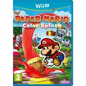 Paper Mario Color Splash Wii U Game