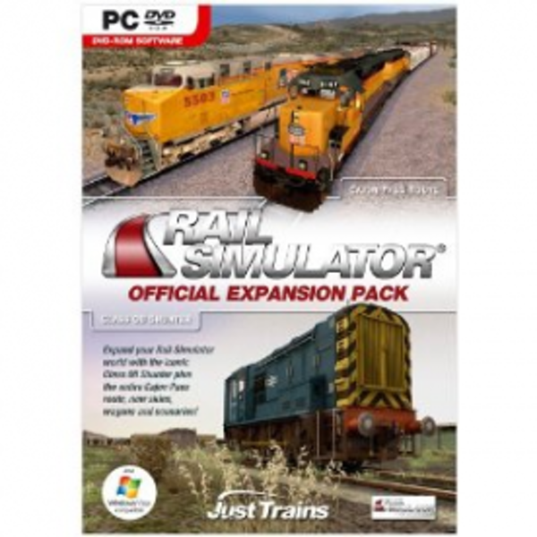 Rail Simulator Official Expansion Pack Game PC