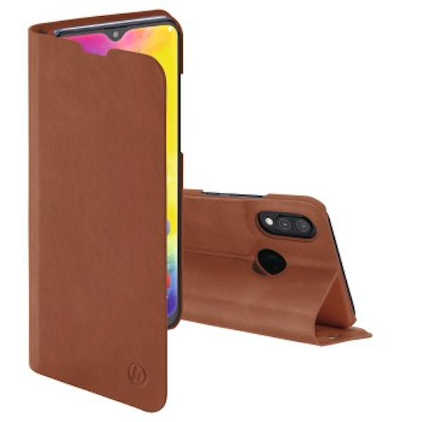 """Hama """"Guard Pro Booklet for Samsung Galaxy M20, brown"""