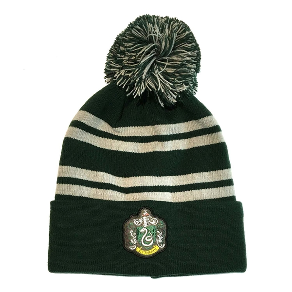 Harry Potter - House Slytherin Unisex Beanie Pom - Green
