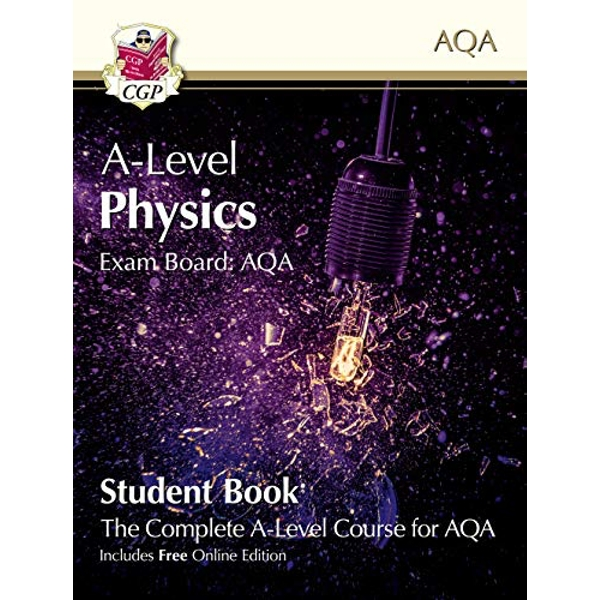 New A-Level Physics for AQA: Year 1 & 2 Student Book with Online Edition  Paperback / softback 2018