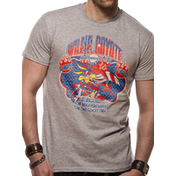 Looney Tunes - Wile E Coyote Men's Small T-Shirt - Grey