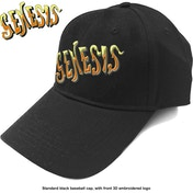 Genesis - Orange Classic Logo Men's Baseball Cap - Black