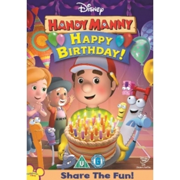 Handy Manny: Manny's Birthday Party/Cinco-De-Mayo DVD