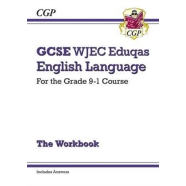 New GCSE English Language WJEC Eduqas Workbook - For the Grade 9-1 Course (Includes Answers) by CGP Books (Paperback, 2016)