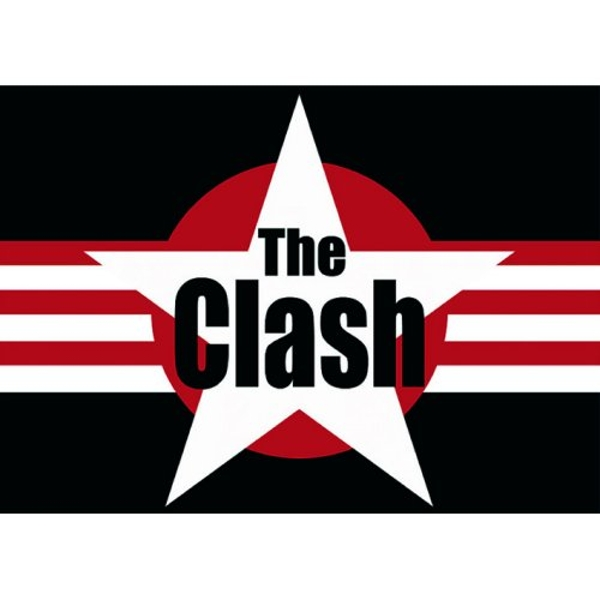 The Clash - Stars & Stripes Postcard