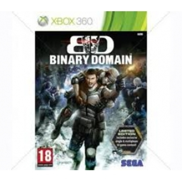 Binary Domain Limited Edition Game Xbox 360