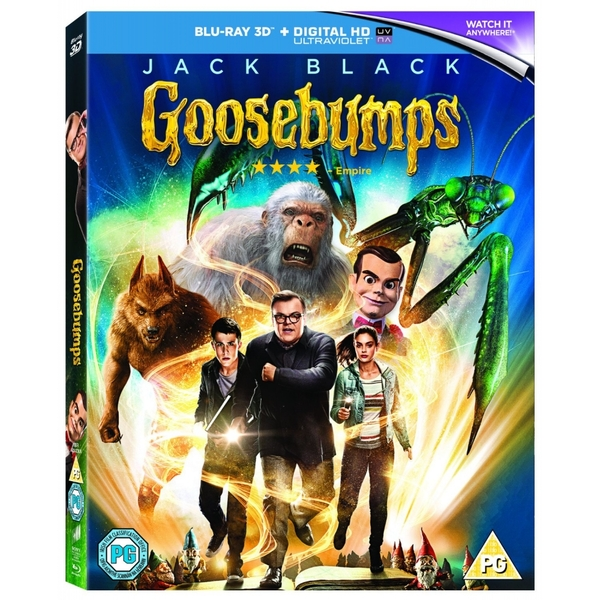 Goosebumps - Blu-ray 3D