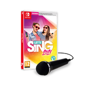 Let's Sing 2021 + Mic Nintendo Switch Game
