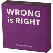 Wrong Is Right Trivia Game