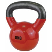 UFE Vinyl Coated Kettlebell 8kg Red