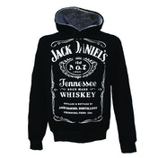 Jack Daniel's Men's Old No.7 Brand Logo Small Hoodie - Black
