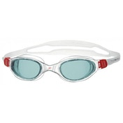 Speedo Futura Plus Senior Swim Goggles Red/Smoke