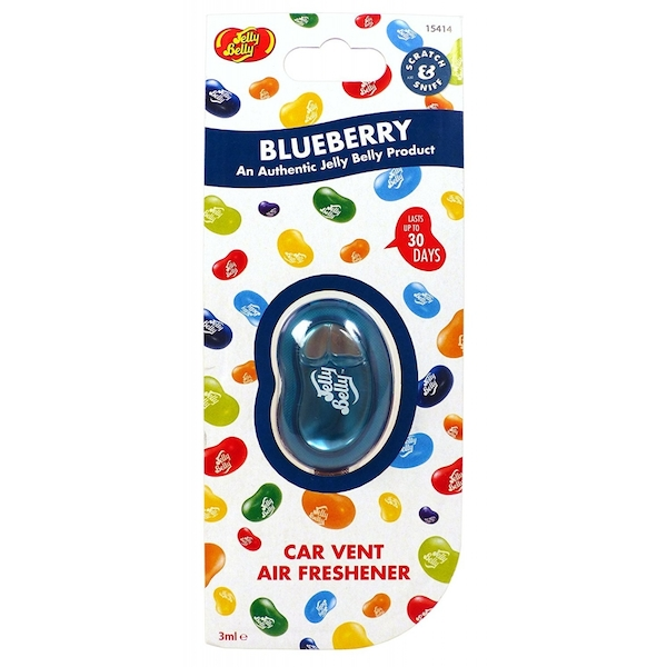 Jelly Belly Blueberry Vent Clip Car/Home Air Freshener
