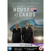 House of Cards - Season 3 DVD