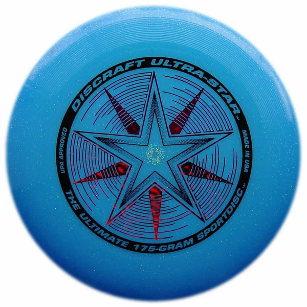 Blue Sparkle Ultrastar Discraft Disc