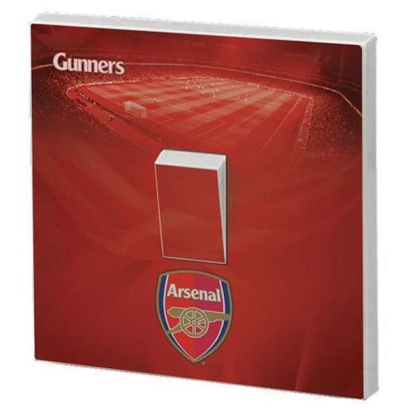 Arsenal FC Light Switch Skin
