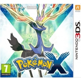 Pokemon X 3DS Game