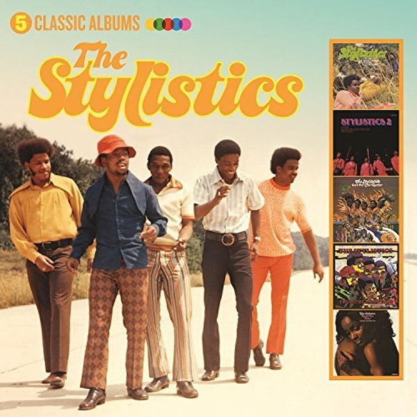 Stylistics - Five Classic Albums Music CD