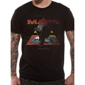 30 Seconds To Mars - Walk On Water Vintage Men's Large T-Shirt - Black