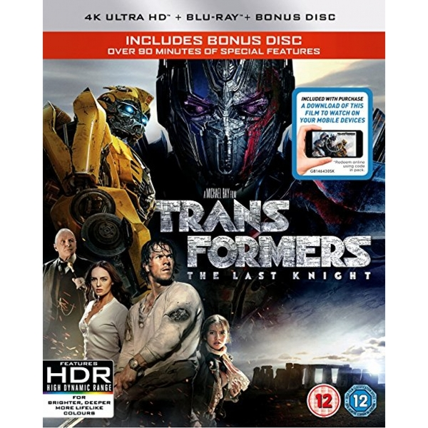 Transformers: The Last Knight 4K UHD Blu-ray