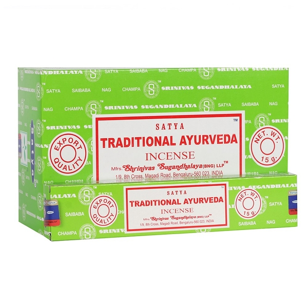 Traditional Ayurveda Incense Sticks by Satya