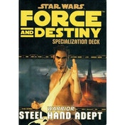 Star Wars Force and Destiny: Steel Hand Adept Specialization Deck