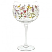 Wildflowers Copa Glass