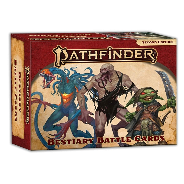 Pathfinder Bestiary Battle Cards (P2)