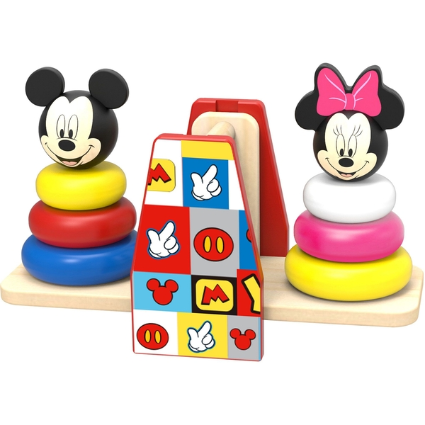 Disney Wooden Mickey Mouse Balance Stacker