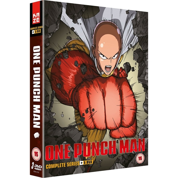One Punch Man Collection 1 (Episodes 1-12   6 OVA) DVD