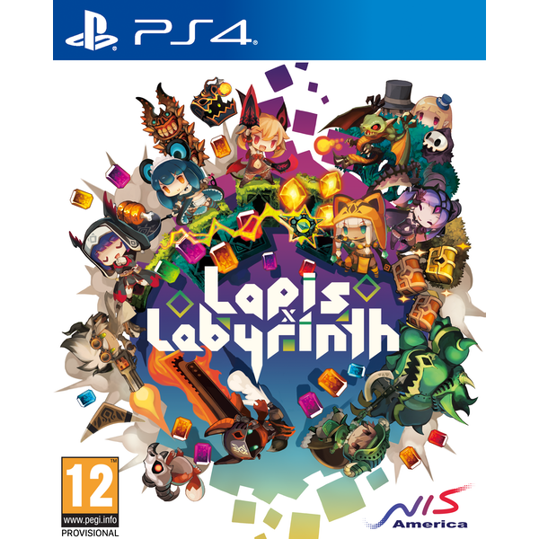 Lapis x Labyrinth X Limited Edition PS4 Game